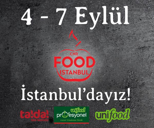 Food İstanbul'dayız