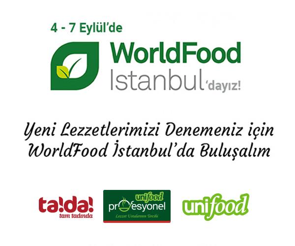 World Food İstanbul'dayız